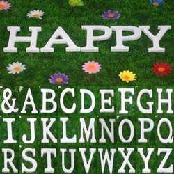 26 Английский Письмо творчески деревянные буквы статуэтки миниатюры деревянный буквенный алфавит слово Свадебные украшения инструмент