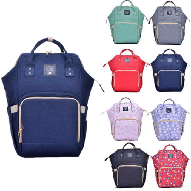 6d5fdfd09b29 Bebewing Diaper Backpack Mummy Large Capacity Bag Mom Baby Multi-function  Waterproof Outdoor Travel Bag