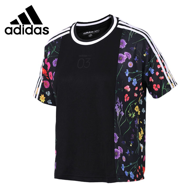 Original New Arrival  Adidas NEO Label CS 3S Tee Women's T-shirts short sleeve Sportswear