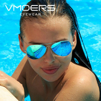 VMOERS Ladies Polarized Aviator Sunglasses Women Pink Mirror Sun Glasses For Women Classic Brand Pilot Shades