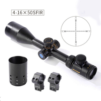 Shooter Tactical accessories Optical Blue Red Green light rifle scopes 4 16*50SFIR hunting rifle scope GZ1 0351