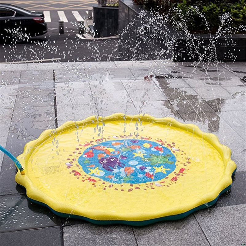 Beach/Sand Toys Play Toy For Outdoor Swimming Beach Lawn Inflatable Sprinkler Pad Baby Children Kids