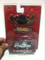 1:64 scale DieCast Toy Malibu International Reel Rides '81 Delorean DMC 12