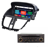 Car Dvd Player For Peugeot 207 Sw Cc 2007 2014 GPS Navigation Radio Stereo RDS Bluetooth