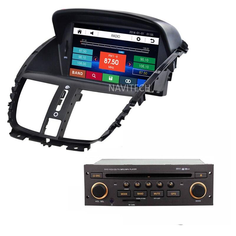 imágenes para Reproductor de dvd del coche para Peugeot 207 2007-2014 Navegación GPS Radio stereo RDS Bluetooth USB multimedia con gps mapa