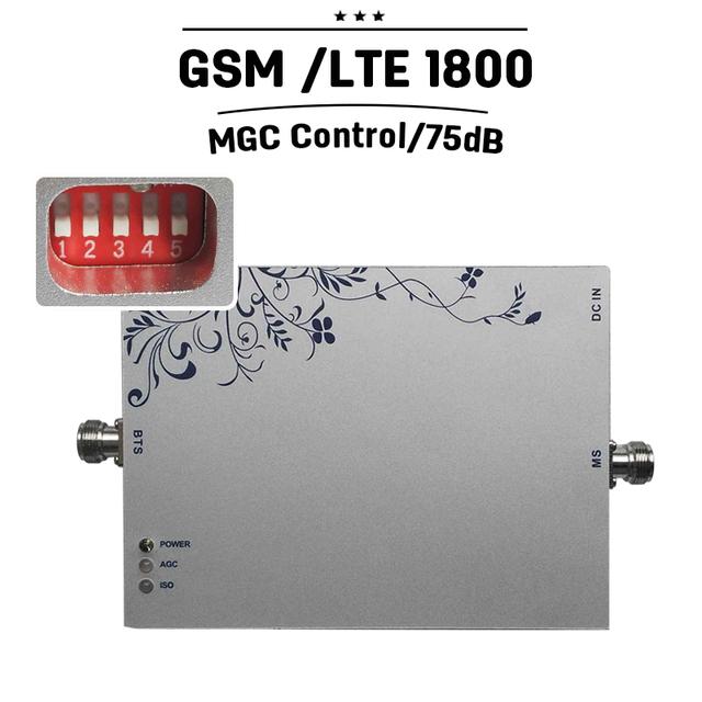 Cobertura de 800 Metros Quadrados GSM LTE 1800 Sinal Móvel Impulsionador 4G LTE FDD 1800 mhz MGC Amplificador Celular Repetidor De Sinal Celular