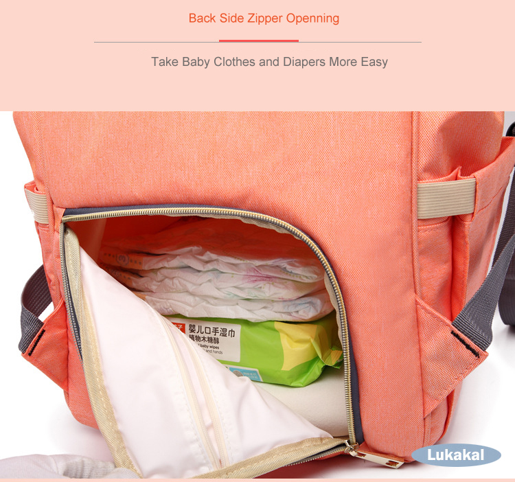 Image 5 - Lequeen Large Capacity Baby Diaper Bag Maternity Nappy Diaper Bags Travel Mummy backpack Bag Baby Care Stroller Nursing BagDiaper Bags   -