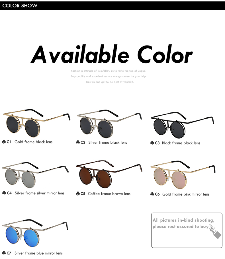 Flip Up Polarized Sunglasses