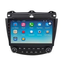Android 6.1.1 Nawigacji GPS 10.1 Cal dla Honda Accord 7 2003-2007 Radio Samochodowe Z 1080 P Wideo Bluetooth wsparcie