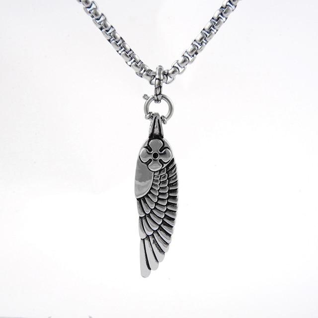 Vin item triple x xxx return of xander cage necklace angel wings vin item triple x xxx return of xander cage necklace angel wings feather titanium steel aloadofball Gallery