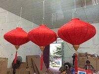 25 stks/partij 14 inch Outdoor/indoor Zijde Paraplu Lantaarns Chinese Nieuwjaar Mall Decoraties Party Decor