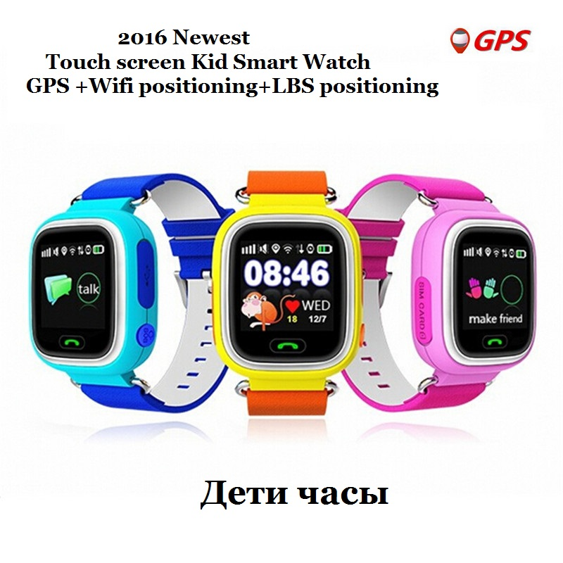 GPS Q90 Baby font b Watches b font Touch Screen WIFI Positioning font b Smart b