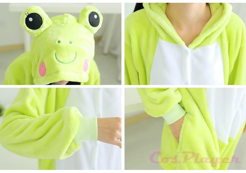 frog flannel pajamas