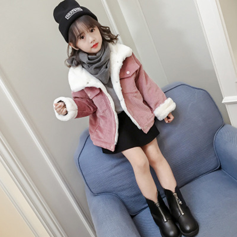 6613caa23 Kids Jacket Cold Winter Baby Girls Coats Children Clothes Girl Thick ...