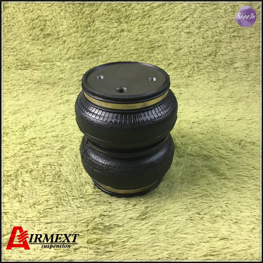 AIRMEXT SN142156BL2 C AIRLIFT 5814 hollow Double convolute airspring airbag shock absorber pneumatic air suspension air