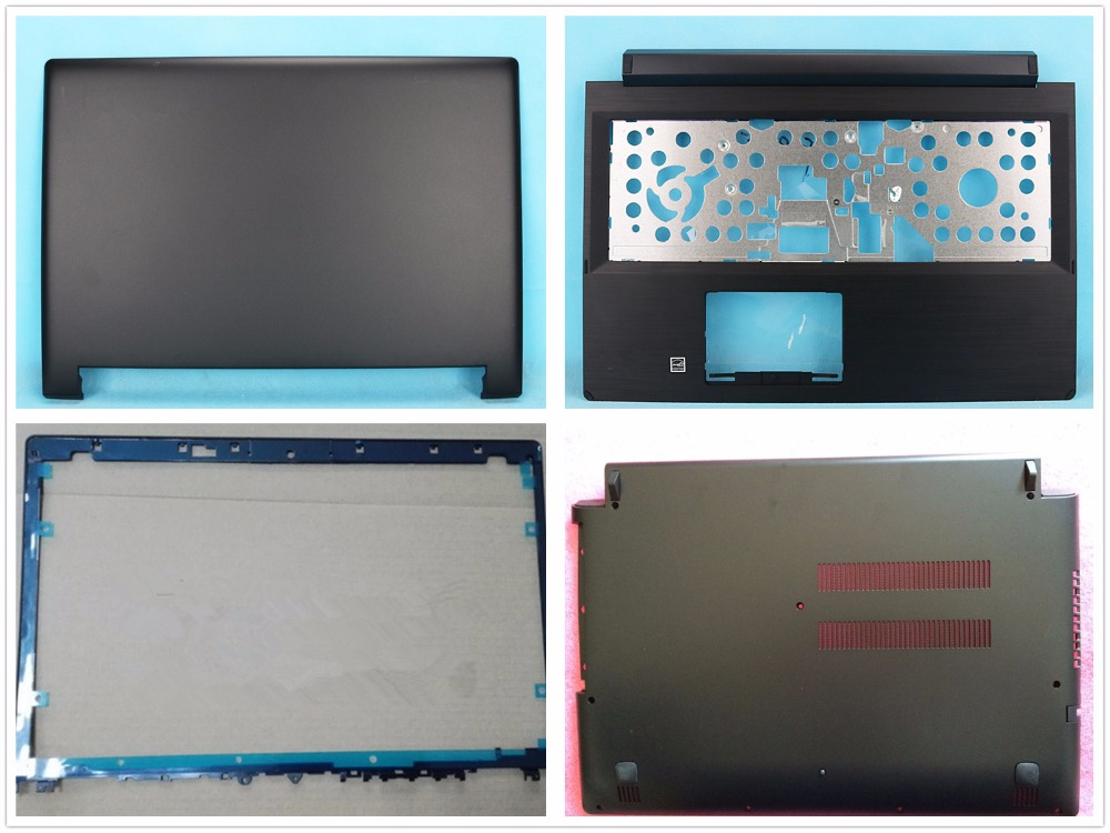 NEW LCD Back Front Cover For Lenovo Flex 2 15 Flex 2-15 Bezel Bottom Case Palmrest Upper Protector 5CB0F76749