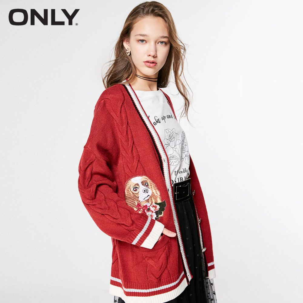ONLY  Women's Loose Fit Cardigan Knit |11913B505