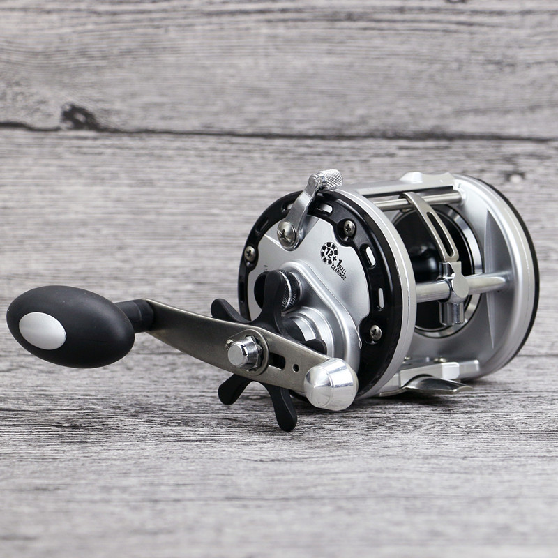 ФОТО 13BB Right Handed Lure Bait Casting Fishing Reel Vessel 5.6:1 Drum Wheel Boat Sea Saltwater Fish Line Coil Centrifugal System