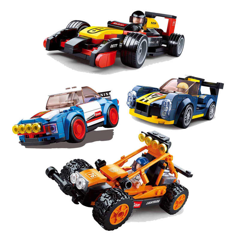 Sports car Speed champion Formula Rally Racing Car Building Blocks Toys For children Christmas gift Compatible With Legoings car