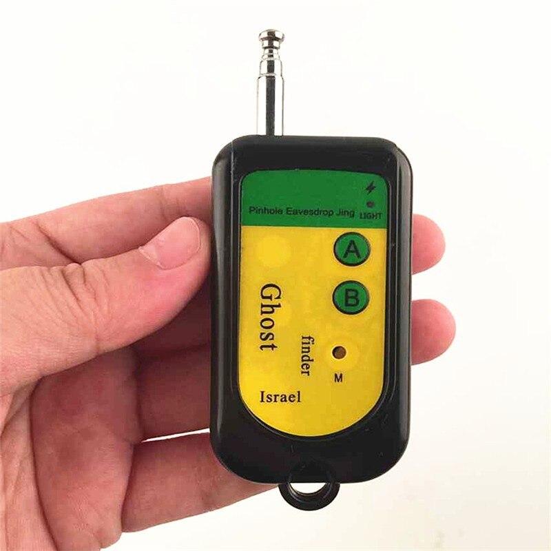 (1 piezas) señal inalámbrica RF Detector trazador Mini cámara buscador Ghost Sensor 100-2400 MHz GSM dispositivo de alarma Radio Frecuencia de verificación
