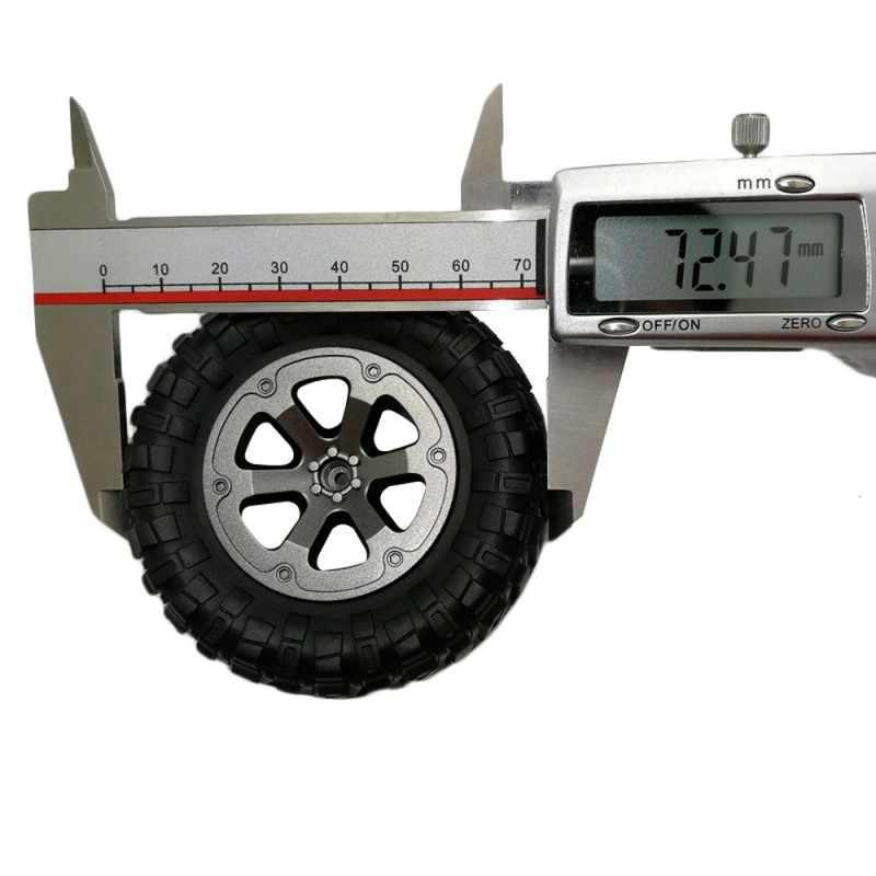 1 16 RC Auto Onderdelen 4 Pcs Upgrade Spoor Wielen Onderdelen voor 1/16 WPL B14 C24 Militaire Truck RC auto Accessoires