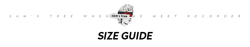 6 ST size guide