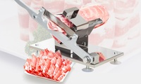 Manual mutton slicer machine household meat slicer mutton slicer meat machine commercial beef mutton roll cutting machine