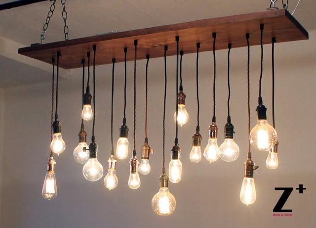 Luci industriali vintage 18 edison bulbi lampadario lampada a