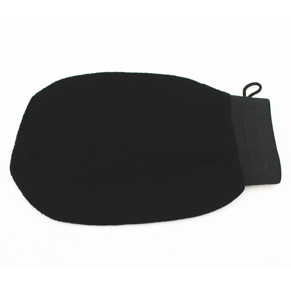 Hot 1PC Magic Black Exfoliator Bath Glove Body Cleaning Scrub Mitt Rub Dead Skin Removal Shower Spa Massage