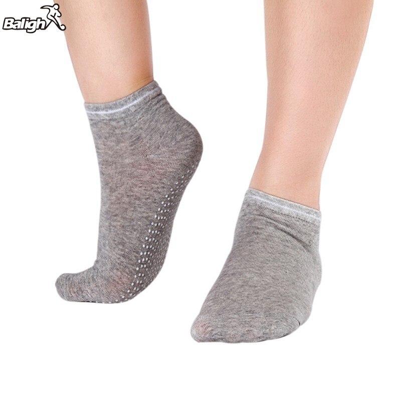 1 Pair Women Yoga font b Fitness b font Pilates Socks Colorful Non Slip Massage Toe