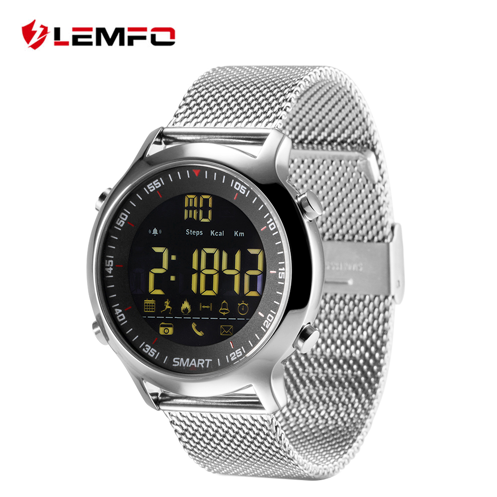 EX18 Smart Watch Sports Smartwatch Pedometer Bluetooth Wristwatch Activity Tracker Smartwatch Waterproof for IOS Android Phone