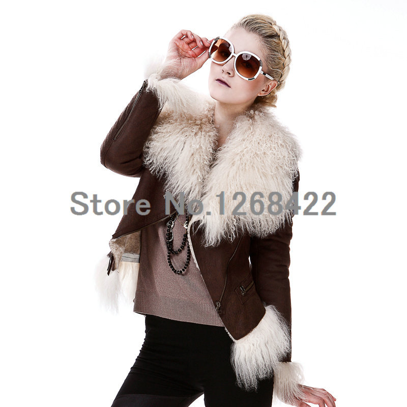 Free shipping winter fashion scarf women Tan sheep wool large collar shawl.Really raccoon fur collar fox fur scarf wb 01 fashion knitting wool collar scarf neck warmer pink