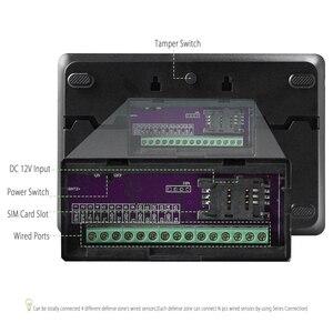 Image 3 - HOMSECUR YA09 (Espanol/Deutsch/Francais/İngilizce Ses) ev Güvenlik Kablosuz GSM Autodial Hırsız Hırsız Alarm Sistemi YA09