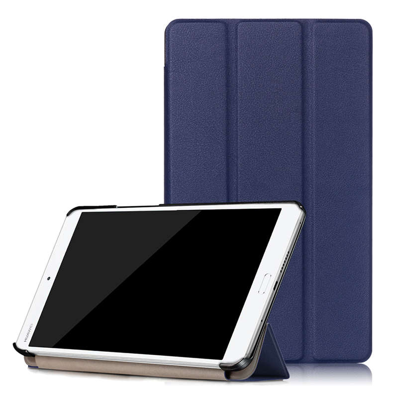 Ultra Slim Tri Fold Magnetic Smart Case Cover for Huawei MediaPad M3 8 0 font b