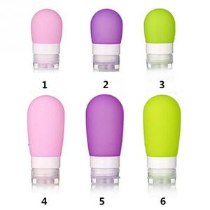 Image 4 - Hot Selling Silicone Navulbare Draagbare Mini Reiziger Verpakking Fles Druk Fles Voor Lotion Shampoo Bad Silicone Druk Fles