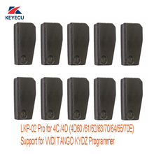цена на KEYECU 10Pcs LKP-02 Pro 4D /4C Copy Chip Support for Tango VVDI KYDZ Programmer, Reuseable