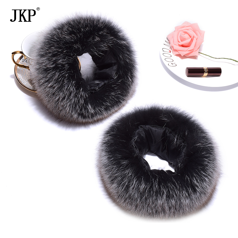 Hot Sale High Quality Fox Fur Cuffs Warmer Genuine Fox Fur Cuff Arm Warmer Women Bracelet Real Fox Fur Glove