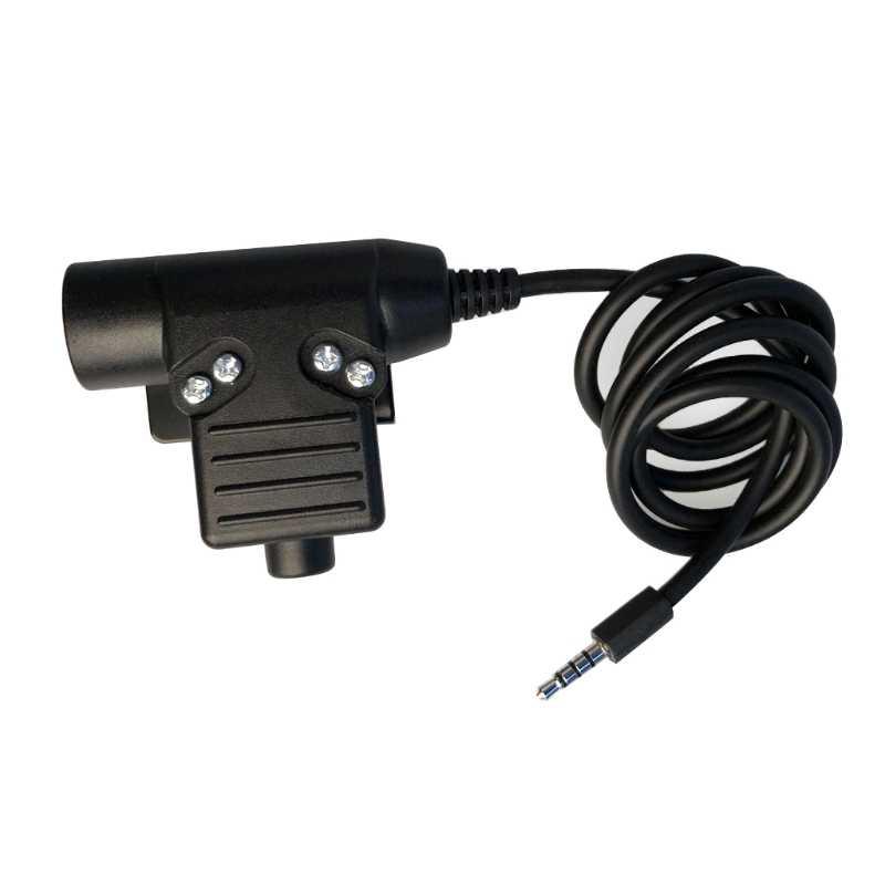 Ücretsiz kargo yeni U94 PTT kulaklık askeri adaptör için z-taktik iPhone cep telefonu için 3.5mm fiş sıcak