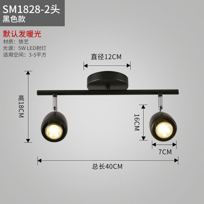 Ceiling Lights Showcase Black Led Track Light Luminaria Bar Exhibition Room Led Iron Ceiling Picture Light Exclusive Store Advertise Spotlight Attractive Fashion