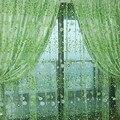 1 PCS Stylish Floral Tulle Voile Door Window Curtain Drape Panel Sheer Scarf Valances