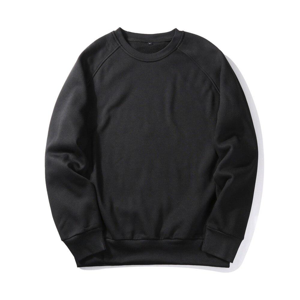 Blank Sweatshirt Printing Custom Harajuku Style Men Sweatshirt Solid Thick Clothes Dropshipping/Custom Sweatshirt For Men sweatshirt