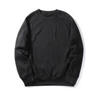 d352ec7832 Blank Sweatshirt Printing Custom Harajuku Style Men Sweatshirt Solid Thick  Clothes Dropshipping Custom Sweatshirt For Men