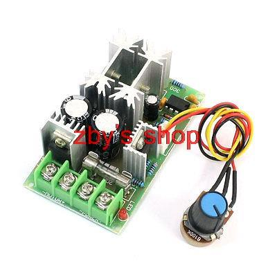 DC10-60V 20A Pulse Width Modulation PWM Motor Speed Controller Switch 8.3