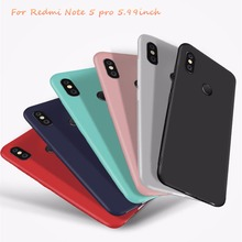 New Matte Candy Silicone Case For Xiaomi 6X Soft TPU Cover Redmi Note 5 pro 5.99 Snapdragon 636 soft silicone 64GB 4 6GB