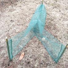 Foldable Automatic Fishing Net Crab Fish Lobster Shrimp Minnow Bait Landing Catch Network Trap Lure A011