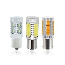 1 шт. 30 Вт 50 Вт 1156 BA15S P21W COB светодиодный светильник Автомобильная противотуманная фара 12 В SMD 3030 5630 5730 Автомобильный задний тормозной светильник лампа заднего хода DRL светильник s