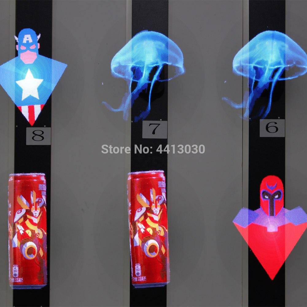 Projecteur holographique d'hologramme de l'annonceur 3d de logo de ventilateur d'air a mené la lampe de gobo - 4