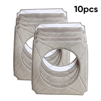 For ECOVACS Winbot W950 Mop Cloth Cleaning Robot Mop Cloth Window Kit High quality Durable 10Pcs/Set Practical