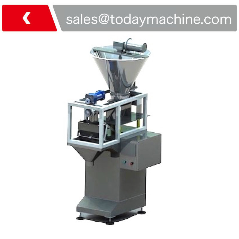 Powder Filler / Semi Automatic Small Dose Filling Machine / High Precision Auger Filler with Screw Feeder
