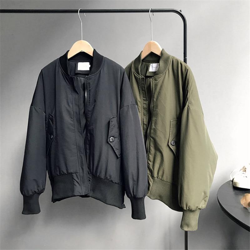 Winter Boyfriend Style Women Jacket 2018 Cotton Women's Outwear   Parkas   coat Thick Warm Snow Wear Jacket Coat Mujer Quilted Tops